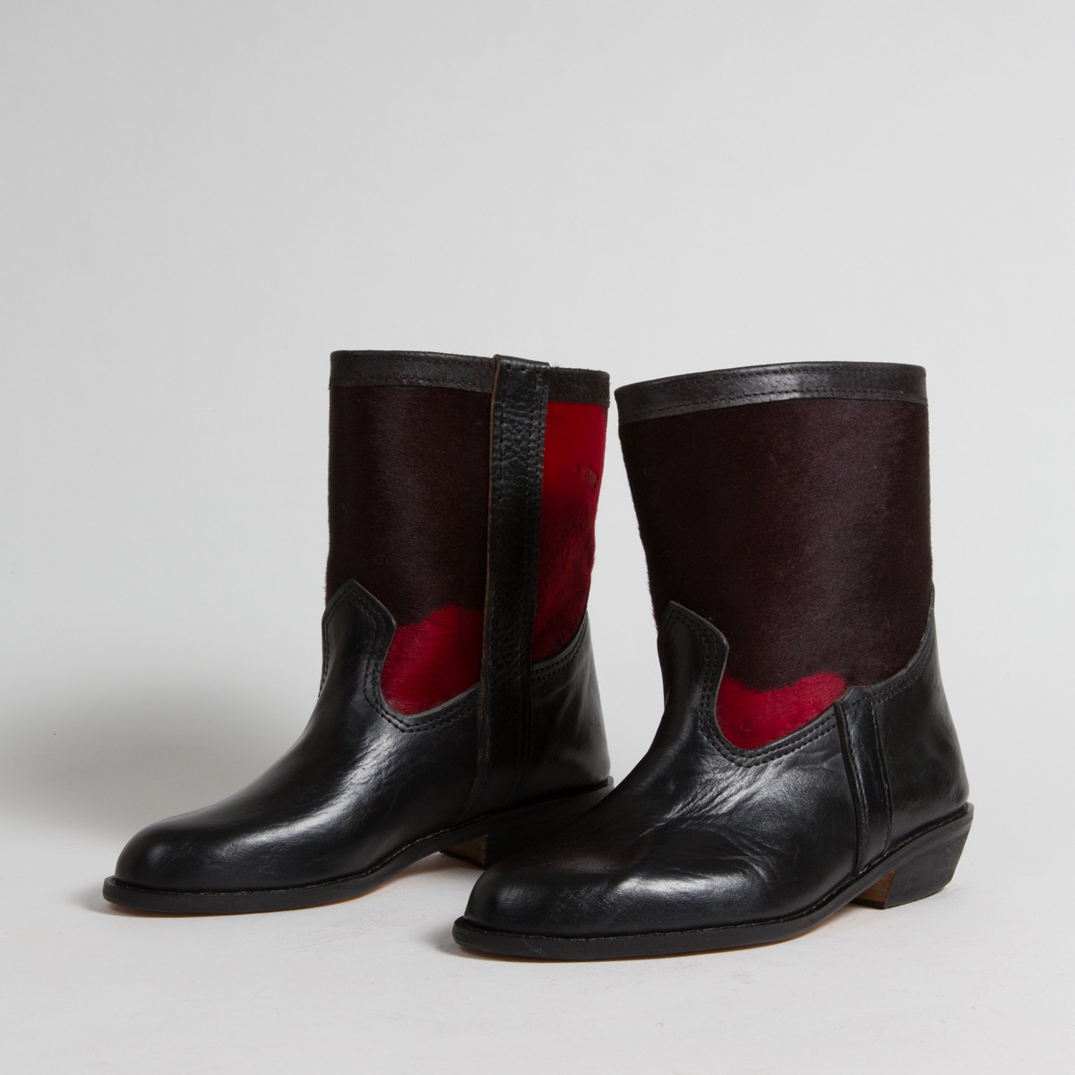 <br>bottines cerise (nr1)