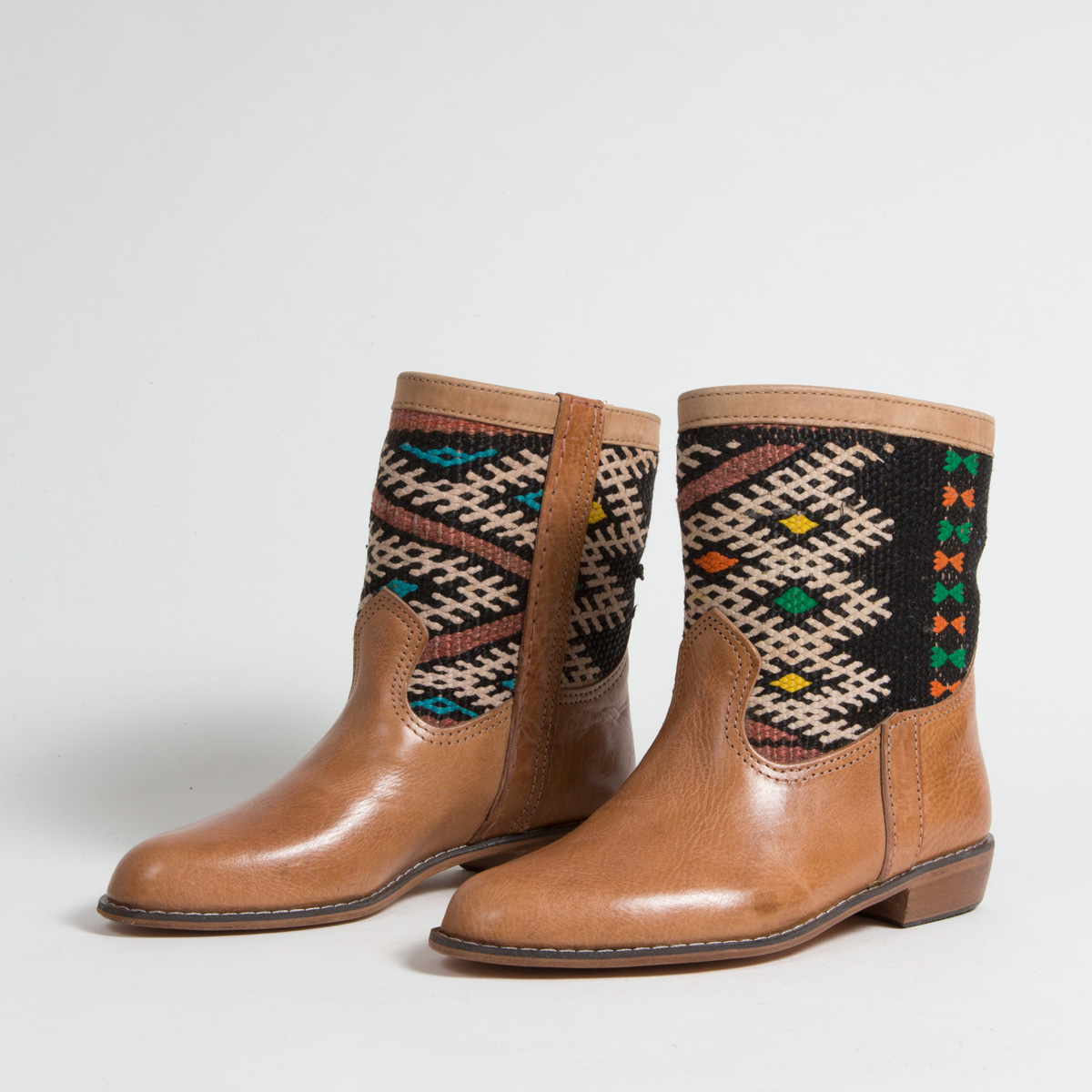 Bottines Kilim - images/kilim/bottines/loc5-01-39-kilim-artisanat-cuir-ethnique-marocaine-bottine-femme-s.jpg