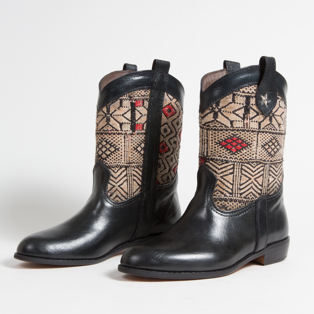 Bottines Kilim - images/kilim/bottines/mn11-01-40-kilim-artisanat-cuir-ethnique-marocaine-bottine-femme-s.jpg